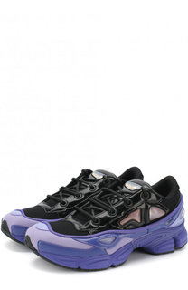 Текстильные кроссовки Ozweego III на шнуровке Adidas by Raf Simons