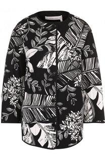 Куртка свободного кроя с принтом и круглым вырезом See by Chloé