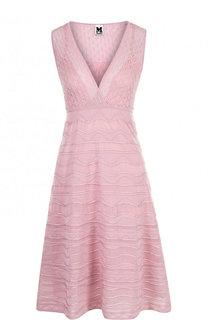 Приталенное платье-миди с завышенной талией M Missoni
