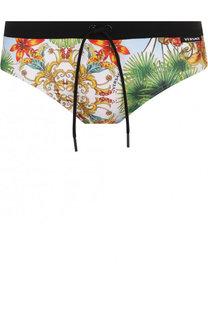 Плавки с принтом Versace