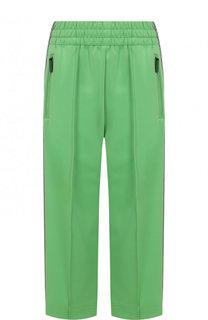 Укороченные брюки с лампасами и стрелками Marc Jacobs