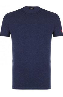 Хлопковая футболка с круглым вырезом Dsquared2