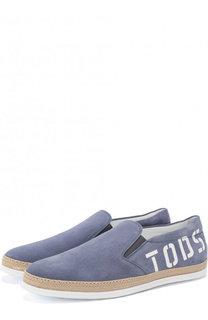 Классические кожаные оксфорды Tod's Tods