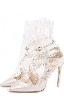 Туфли Claire на шпильке Jimmy Choo x OFF-WHITE Jimmy Choo