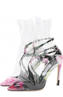 Туфли Claire на шпильке Jimmy Choo x OFF-WHITE Jimmy Choo