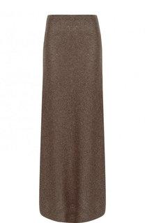 Расклешенная юбка-макси из вискозы Dries Van Noten