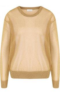 Полупрозрачный пуловер свободного кроя Dries Van Noten