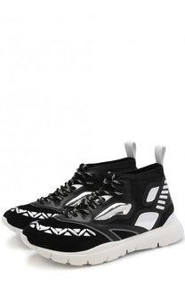 Комбинированные кроссовки Valentino Garavani Heroes Reflex Valentino