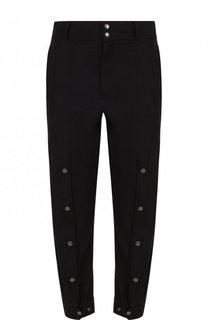 Хлопковые брюки с металлическими заклепками Damir Doma
