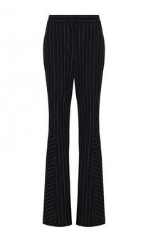 Шерстяные расклешенные брюки в полоску Dorothee Schumacher