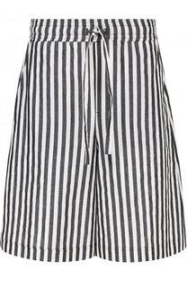 Расклешенные шорты в полоску Damir Doma
