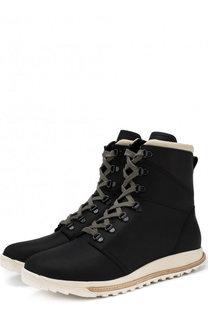 Кожаные сапоги на шнуровке Rick Owens