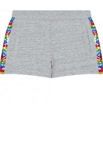 Хлопковые шорты с пайетками Marc Jacobs
