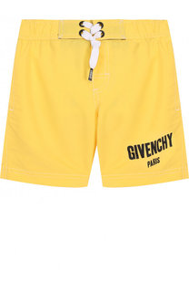 Плавки-шорты с логотипом бренда Givenchy