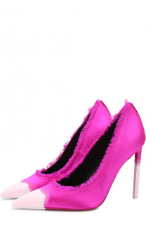 Атласные туфли Frayed на шпильке Tom Ford