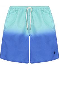 Плавки-шорты с градиентом Polo Ralph Lauren