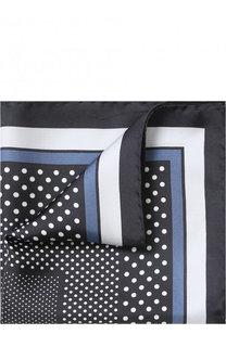 Шелковый платок с узором Tom Ford