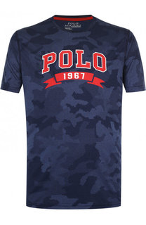 Футболка с камуфляжным принтом Polo Ralph Lauren