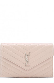 Сумка Monogram Envelope mini из стеганой кожи Saint Laurent