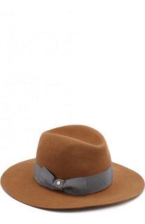 Фетровая шляпа с лентой Inverni