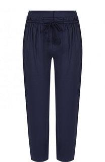 Однотонный укороченный брюки из хлопка See by Chloé
