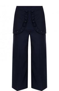 Укороченные хлопковые брюки REDVALENTINO