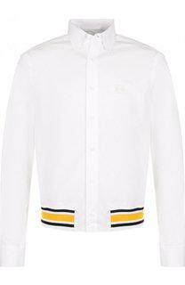 Хлопковая рубашка на резинке Loewe
