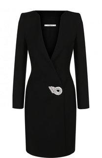 Приталенное шерстяное мини-платье Givenchy