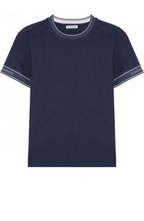 Хлопковая футболка с логотипом бренда Dolce & Gabbana