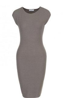 Хлопковое мини-платье фактурной вязки Cruciani
