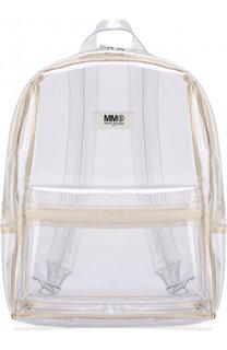 Прозрачный рюкзак Mm6