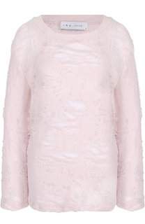 Вязаный пуловер прямого кроя с круглым вырезом Iro