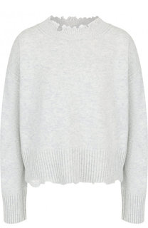 Пуловер свободного кроя из смеси шерсти и кашемира Helmut Lang