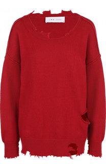 Пуловер свободного кроя из смеси хлопка и кашемира Iro