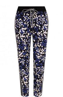 Укороченные шелковые брюки с эластичным поясом 3.1 Phillip Lim