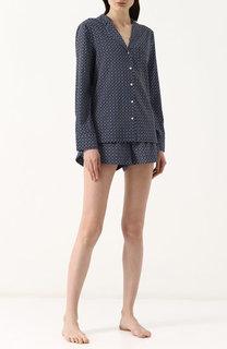 Шелковая пижама в горошек Stella McCartney