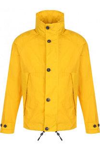 Куртка на молнии с воротником-стойкой Z Zegna