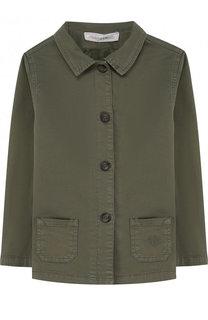 Хлопковая куртка на пуговицах Tartine Et Chocolat
