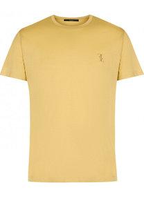 Шелковая футболка с круглым вырезом Billionaire