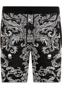 Льняные шорты с поясом на кулиске Gemma. H