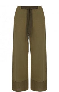 Укороченные хлопковые брюки с карманами Deha