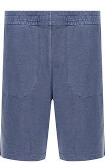 Хлопковые шорты с поясом на резинке Z Zegna