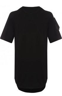 Удлиненная хлопковая футболка Julius