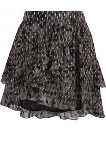 Мини-юбка из вискозы с оборками Iro