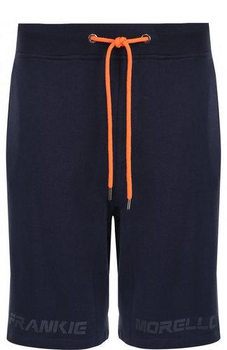Хлопковые шорты с поясом на кулиске Frankie Morello