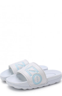 Шлепанцы с логотипом бренда Kenzo