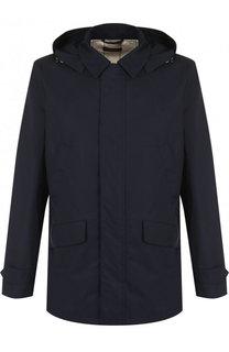 Хлопковая куртка Montville на молнии с капюшоном Loro Piana