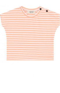 Хлопковая футболка в полоску Aletta