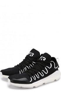 Текстильные кроссовки Kusari на шнуровке Y-3