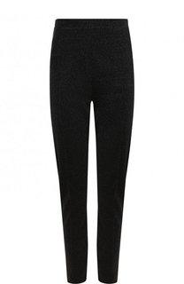 Укороченные брюки-скинни с металлизированной нитью By Malene Birger